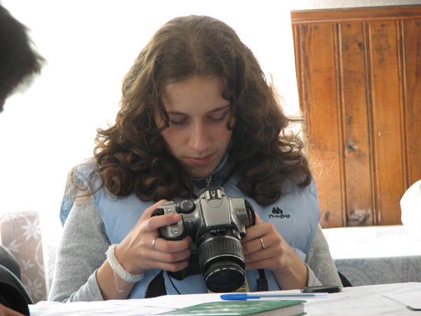 Vanatorul - cursuri, Cristina Tinta