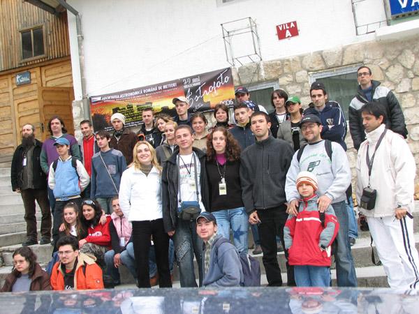 Vanatorul - cursuri, Group Picture